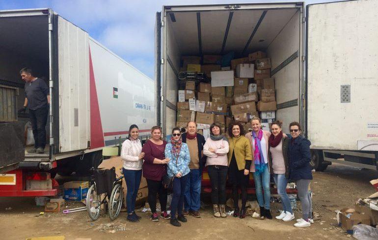 50.000 kilos de ayuda humanitaria parten de Huelva al Sahara