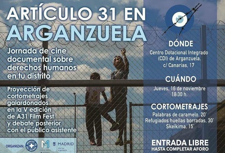 Desde Médicos del mundo y Ayuntamiento de Madrid nos invitan a participar en la …