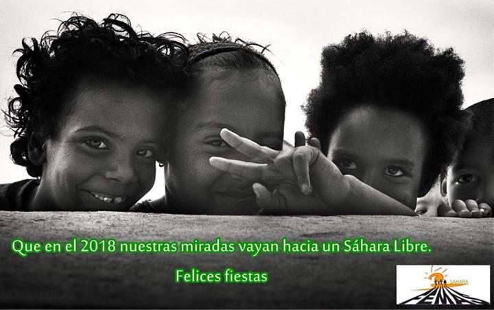 🇪🇭🇪🇭 En el 2018 seguiremos luchando por el Pueblo Saharaui 🇪🇭🇪🇭