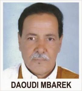 El preso político saharaui Mbarek Daoudi juzgado de nuevo