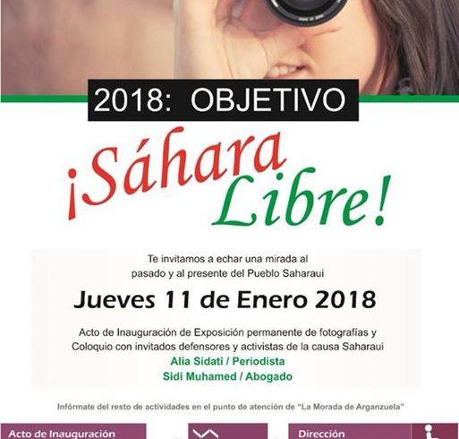 Un acto que como bien dice su titulo, nuestro objetivo es un Sahara Libre !!! Pa…