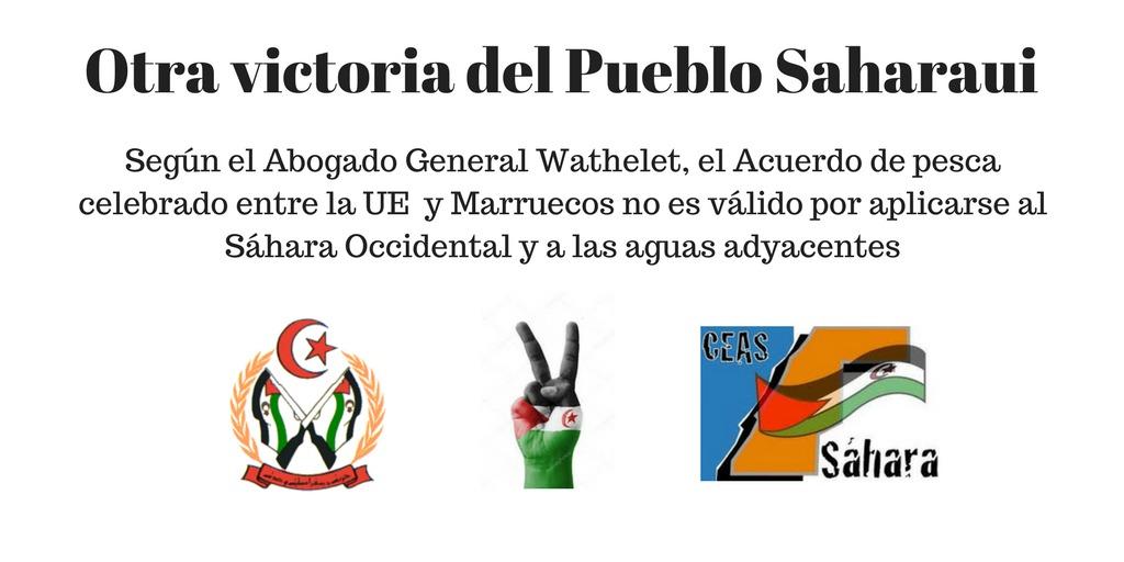 Acuerdo de pesca celebrado entre la UE y Marruecos no es válido por aplicarse al Sáhara Occidental y a las aguas adyacentes