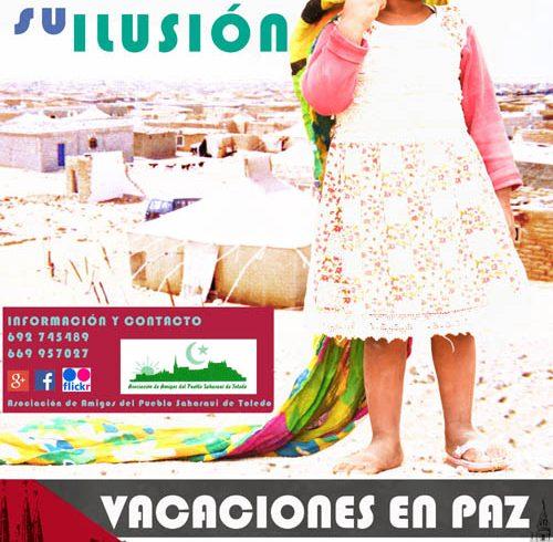 """""""Vacaciones en Paz 2018"""" Comparte su ilusión – CEAS-Sahara"""