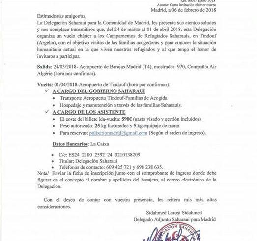 🇪🇭 Viaje Semana Santa a los Campamentos de Refugiados Saharauis en Tindouf (Arge…