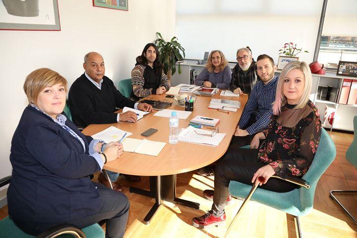 Photos from Ayuntamiento de Getafe's postLa concejala de Cooperación Raquel Alcá…
