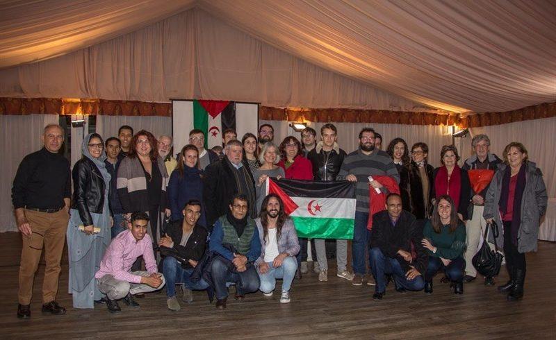Unas 150 personas asisten a la cena solidaria de Amigos del Pueblo Saharaui