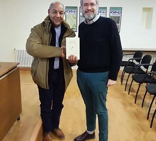 Ayer el delegado saharaui de la Comunidad de Madrid, Abidin Buchraya, dio una ch…