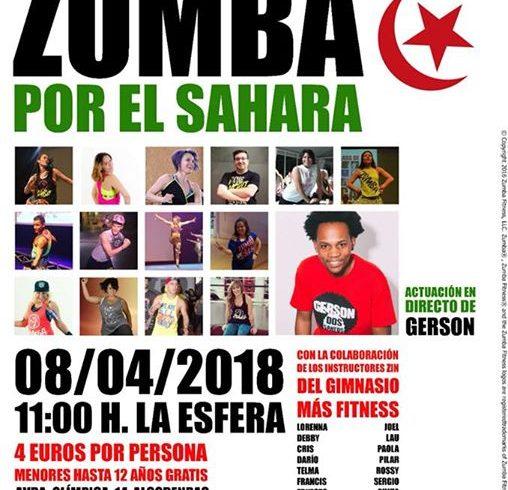 Zumba en Alcobendas y XV aniversario de la Asociación de Amigos del Pueblo Sahar…