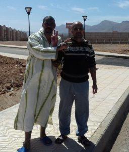 Los presos políticos saharauis Nourdine Argoubi y Fak Jhalihenna liberados con pena cumplida