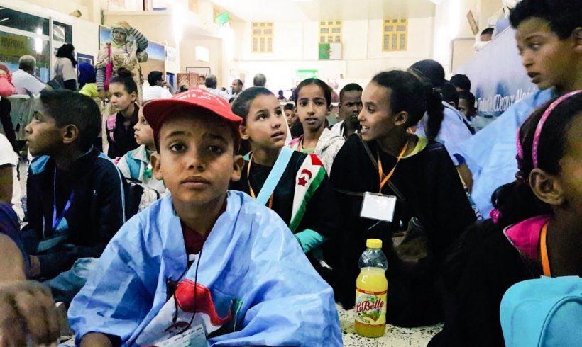 Pequeñas aclaraciones: Los niños saharauis son NIÑOS.