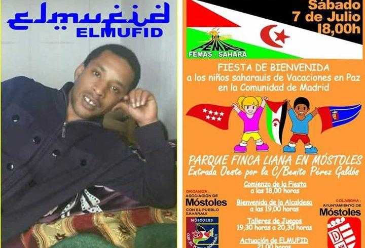 Os esperamos a todos en nuestra fiesta de Bienvenida a los niños y niñas saharau…