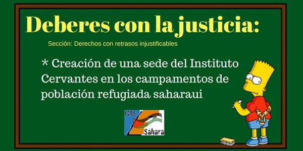 Carta al director del Instituto Cervantes, Luis García Montero – CEAS-Sahara