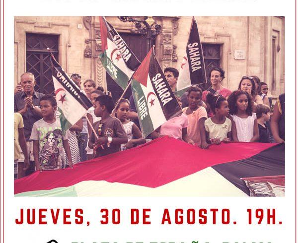 Manifestación por un Sàhara Libre, 30 d'agosto, 19h. Plaza d'Espanya – CEAS-Sahara