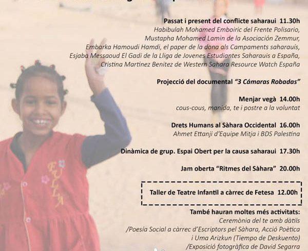 Acto próximo de apoyo al pueblo saharaui – CEAS-Sahara