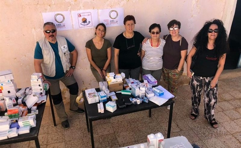 La Alianza de Municipios del Sur envía a 200 kilos de medicinas al Sáhara para prevenir brotes de gastroenteritis