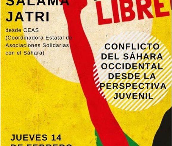 El próximo jueves 14 en Madrid , desde Ceas-Sahara y Nuestra Jaima nos invitan a…