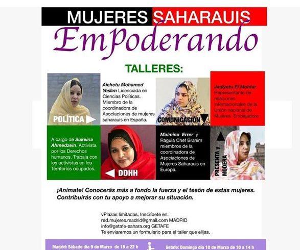 Conoce a la mujer saharaui a través de estos talleres con @getafesahara_ . Mujer…