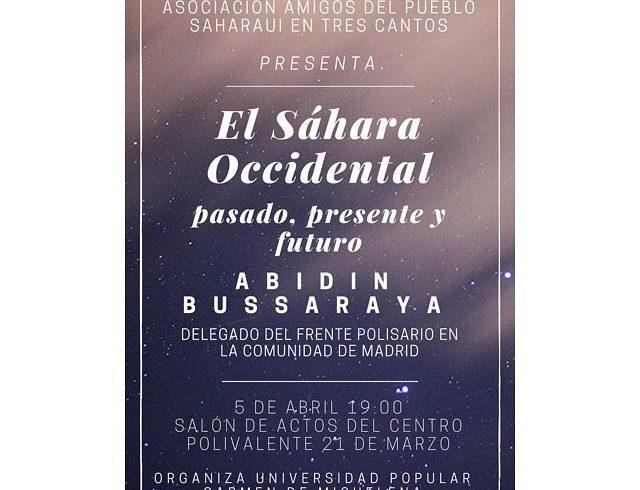 🇪🇭🇪🇭 El día 5 de abril, viernes,  tenemos dos eventos!!   ️ Tres Cantos El Sáhar…