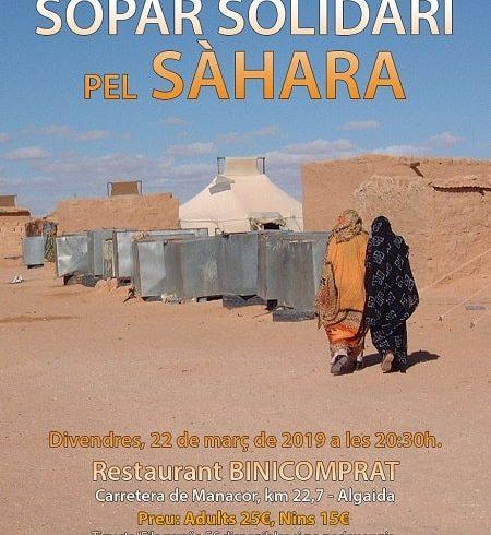 Baleares: Cena Solidaria para el Sáhara