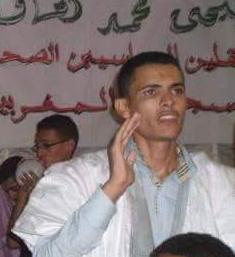 Preso politico Saharaui Lahoucine Amaadour en huelga de hambre