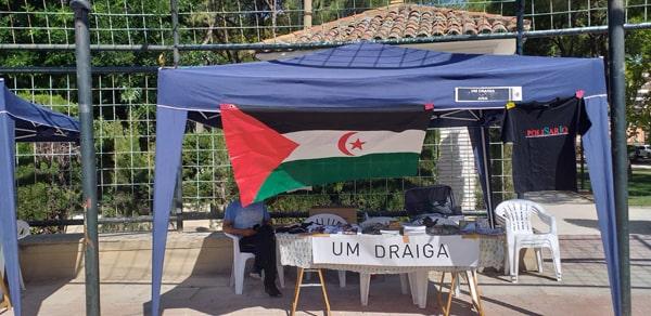 Um Draiga en la fiesta del PCE-Aragón – CEAS-Sahara