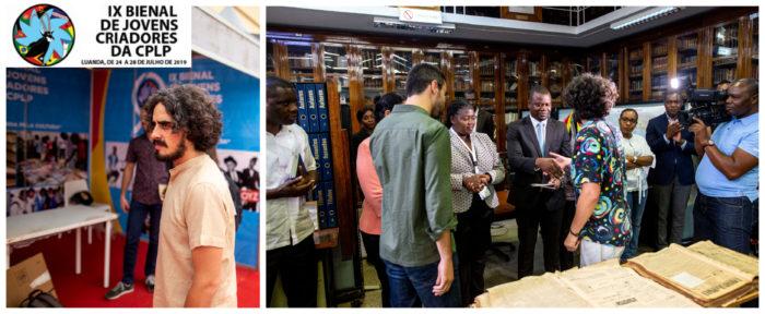 EL Sahara Occidental presente en la IX Bienal de Jóvenes Creadores de la CPLP en Luanda | POR UN SAHARA LIBRE .org