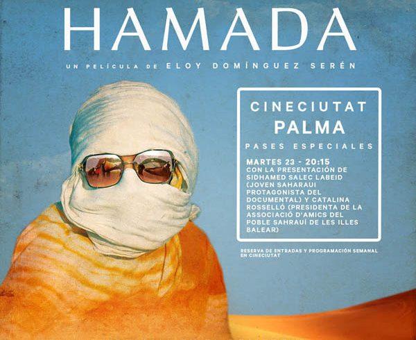 Presentación de la película Hamada en el CineCiutat de Palma de Mallorca – CEAS-Sahara