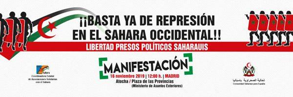 Basta ya de represión en el Sáhara Occidental. Libertad presos políticos saharauis. – CEAS-Sahara
