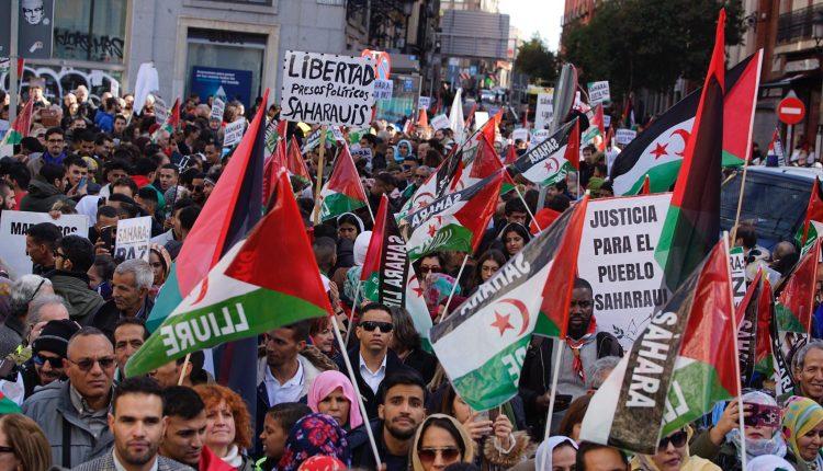 El movimiento de apoyo al Sahara se manifiesta en Madrid para pedir el fin de la ocupación | POR UN SAHARA LIBRE .org