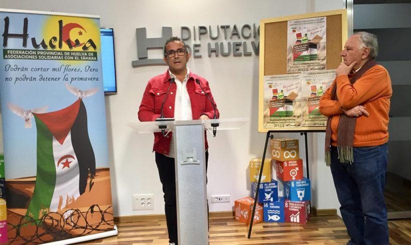 La 'Caravana por la Paz 2020' en Huelva espera reunir en la provincia 50.000 kilos de ayuda humanitaria para el Sáhara