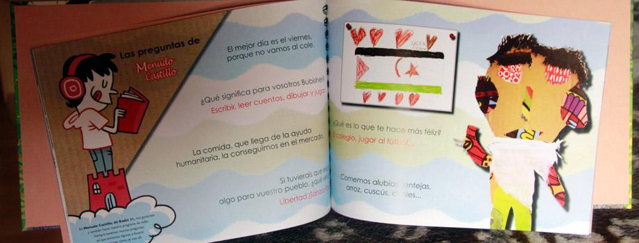 interior del libro