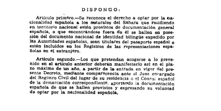 Denuncian desde Andalucía los «rotos en la coherencia jurídica» del Estado español en el Sahara Occidental