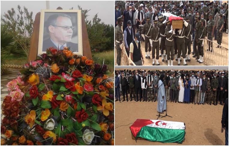 Mohamed Khaddad, líder histórico saharaui, enterrado en los campamentos de refugiados   POR UN SAHARA LIBRE .org