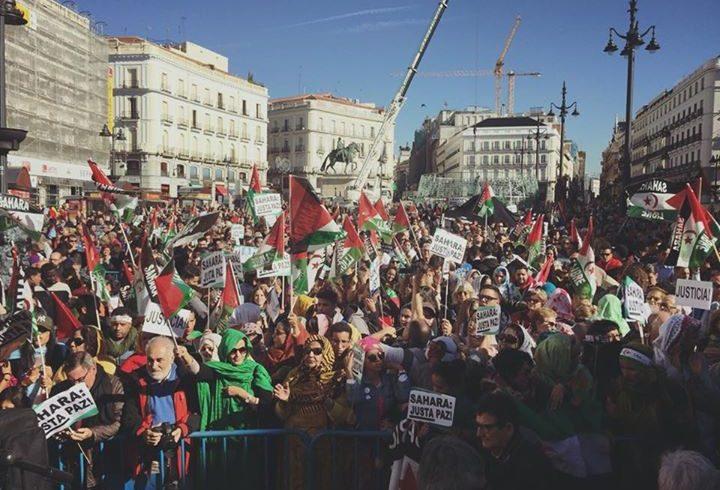 Desde FEMAS Sahara no nos cansaremos de gritar SAHARA LIBRE !!!! 🇪🇭🇪🇭  Seguimos …