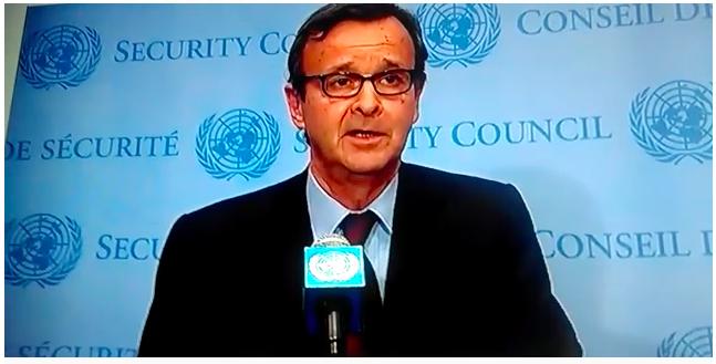 Conferencia de prensa sobre la reunión del CS de la ONU sobre el Sáhara Occidental
