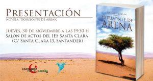 Presentación de la novela «Horizonte de Arena», de Eduardo Jordán