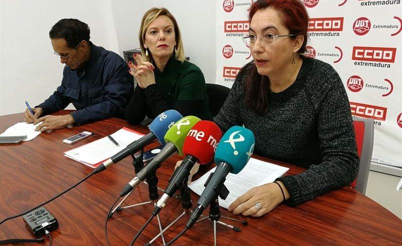CCOO y UGT inician una recogida solidaria de alimentos en sus sedes de Extremadura para ayudar al pueblo saharaui