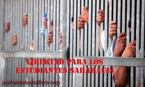Estudiantes saharauis, presos en Marraquech, en huelga de hambre