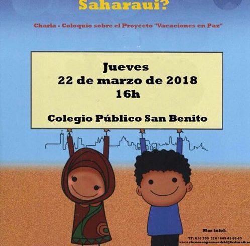 Reuniones informativas sobre Vacaciones en Paz en Madrid para familias nuevas !!…