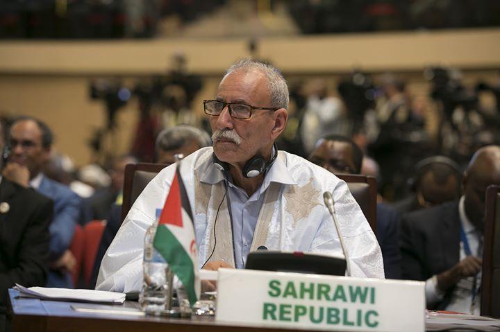 Photos from Rasd-Tv En Español's postPresidente de la República #SAHARAUI 🇪🇭 y s…