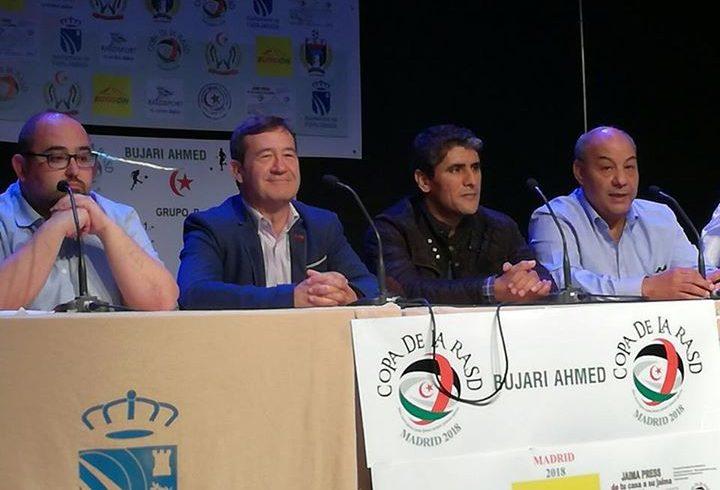 Ayer se inició la copa de la Rasd 2018 en Fuenlabrada. En memoria de Bujari Ahme…