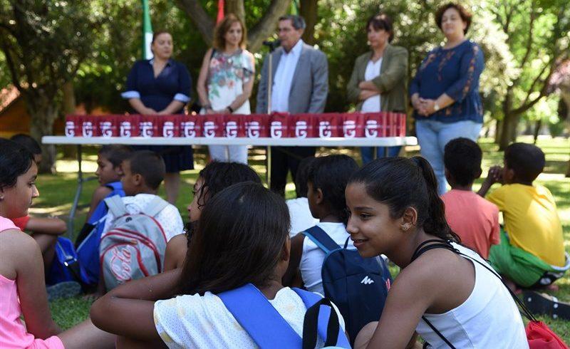 Más de 100 niños saharauis pasan el verano en Granada con el programa de Diputación 'Vacaciones en Paz'