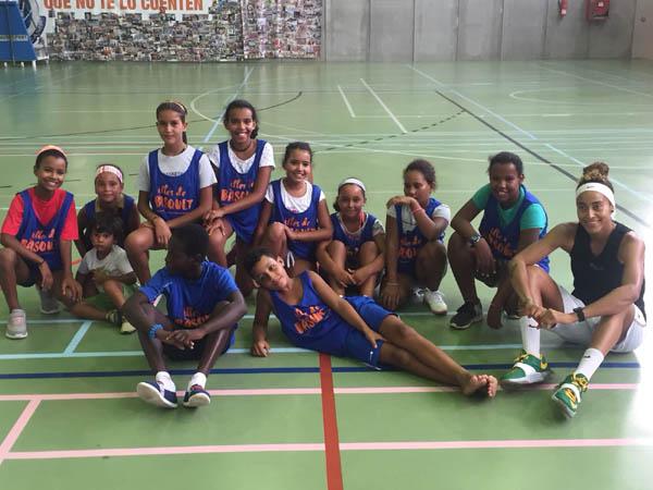 Diada de basket organizada por la Fundación de Baloncesto de Baleares – CEAS-Sahara