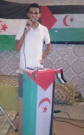 Líder estudiantil Saharaui será presentado ante el Juez de instrucción el 29 de enero