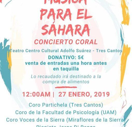 Música para el Sáhara !!! Concierto coral en Tres Cantos