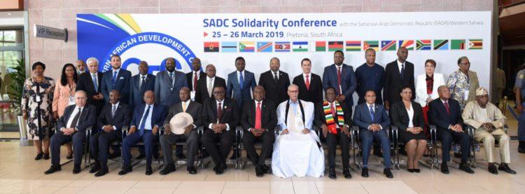 Declaración Conferencia de Solidaridad de la SADC con el Sáhara Occidental
