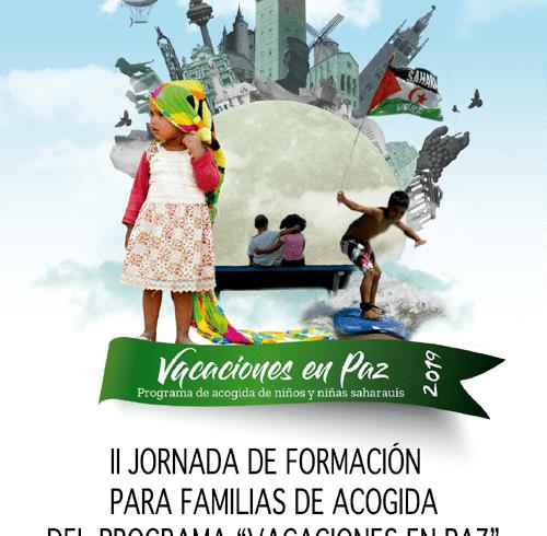 II Jornada de Formación para familias de acogida del programa «Vacaciones en paz» – CEAS-Sahara