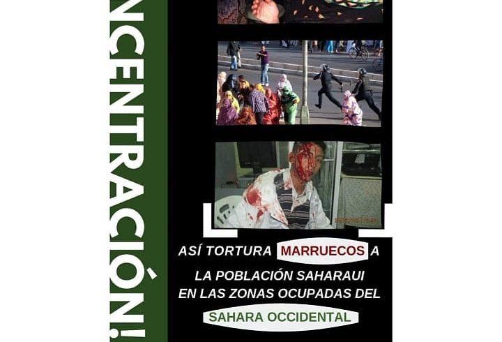 ️ CONCENTRACIÓN URGENTE DEBIDO A LA REPRESIÓN CON LA POBLACIÓN CIVIL SAHARAUI EN…