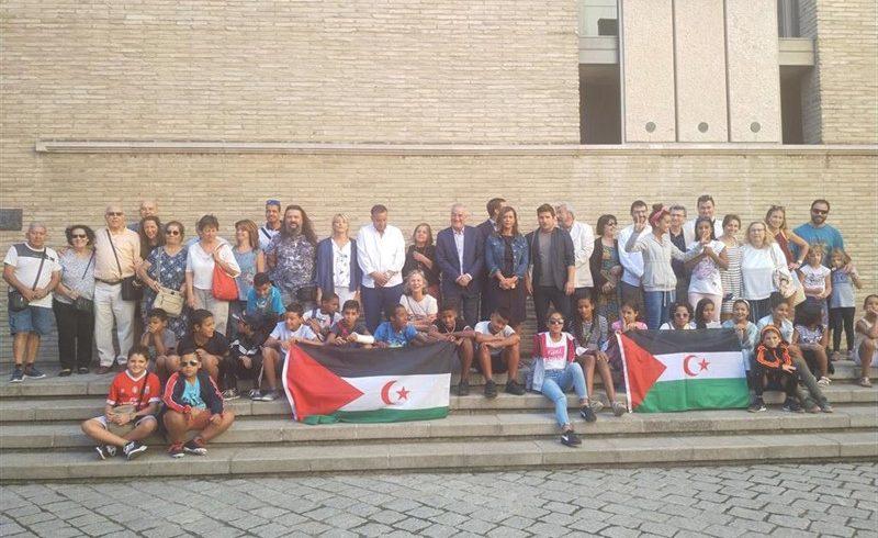 Concluye el programa 'Vacaciones en paz' y los 136 niños saharauis volverán a los campamentos de refugiados