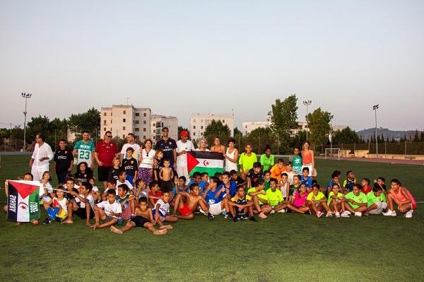 Campeonato de fútbol de los niños y niñas del Programa Vacaciones en Paz – CEAS-Sahara